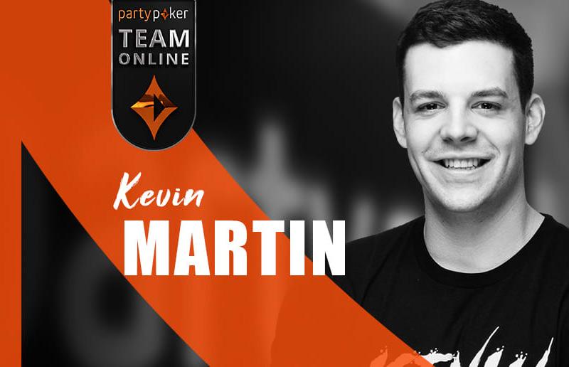 Новый участник partypoker Team Online — Кевин Мартин
