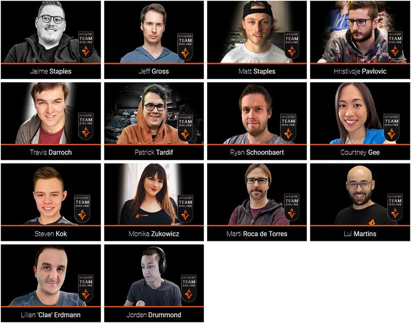 Team Online рума partypoker.