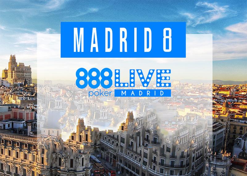 Близится мадридская остановка 888poker!